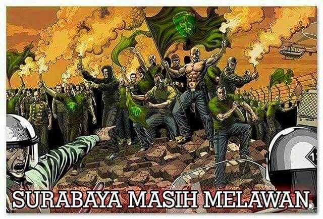 This is Surabaya