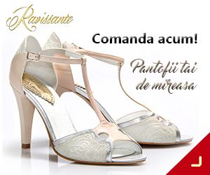 RAVISSANTE este primul brand din Romania nisat pe pantofi de mireasa. Creat pentru a veni in intampinarea viitoarelor mirese care doresc sa isi completeze tinuta cu o pereche de pantofi frumosi si comozi, RAVISSANTE ofera pantofi pe comanda realizati dupa masuratorile piciorului clientei.