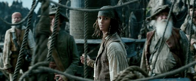 "young jack sparrow | The new ""Pirates of the Caribbean"" trailer features a young Jack ..."