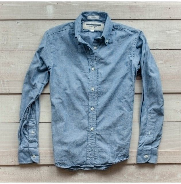 Guideboat Heritage Chambray Button Down