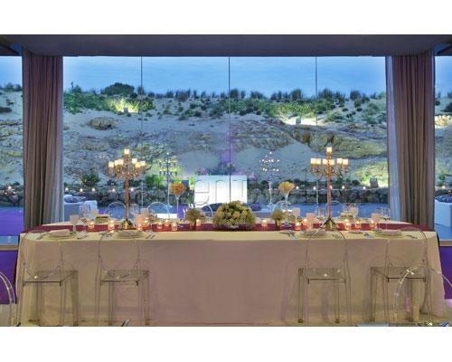 Mesa dos noivos em Hotel The Oitavos. #casamento #lugares #hotel