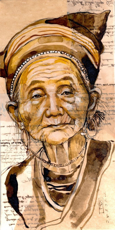 Stéphanie Ledoux - Carnets de voyage: Marché de Laomeng