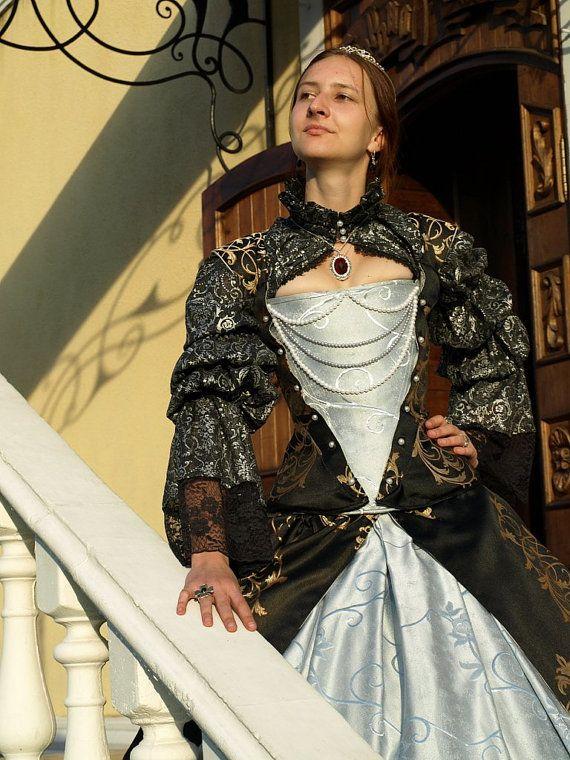 Robe de Renaissance élisabéthaine costume par DressArtMystery