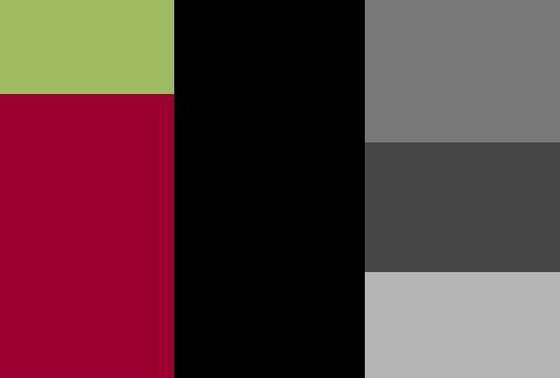 Barry/Doorley Wedding Color Pallet