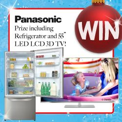 We're giving our Facebook Fans a chance to WIN a Panasonic TV and Fridge - perfect for Christmas Entertaining!Click on the picture to enter and don't forget to SHARE…