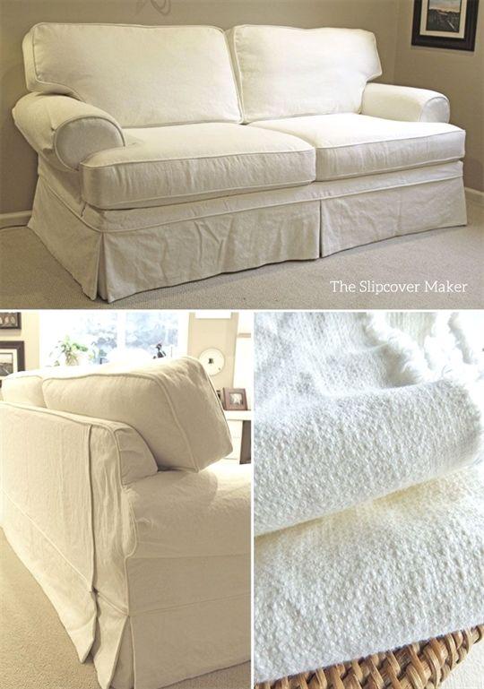 cotton linen slipcovers for flexsteel classics sectional sofas rh in pinterest com