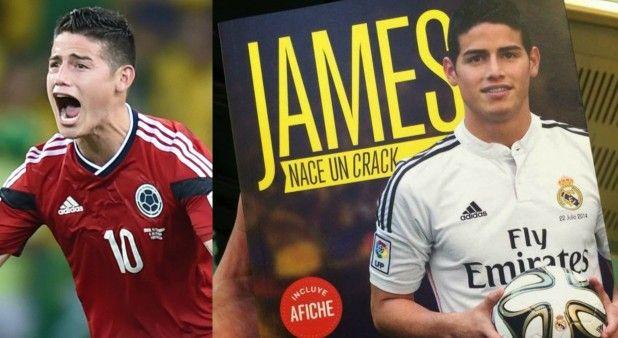 """""""James será el Cristiano Ronaldo de adidas"""" y otros datos que usted no sabe de su vida"""
