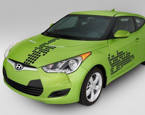 This is the Genuine OEM 2013-2014 Hyundai Elantra Coupe Disco Body Graphic (D089)!