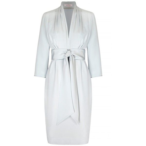 Crepe Silk Dress |Silk Tea Dress | Ladies Designer Dresses |powder... (81.275 RUB) ❤ liked on Polyvore featuring dresses, tea party dresses, powder blue dress, crepe fabric dress, silk dress and silk crepe dress