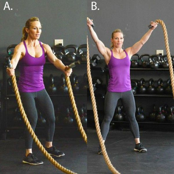 Heavy Rope Exercises To Slam, Strengthen, And Sculpt | Shape Magazine