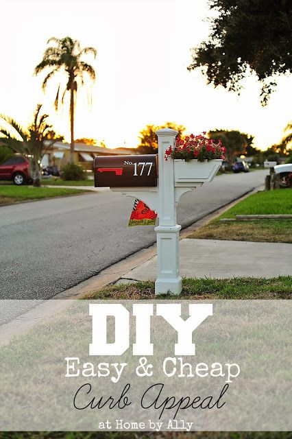 #DIY #curbappeal on a #budget