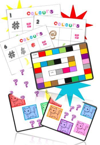 Colours - Pépiole à l'école