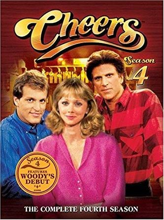 Ted Danson & Rhea Perlman & James Burrows-Cheers - The Complete Fourth Season