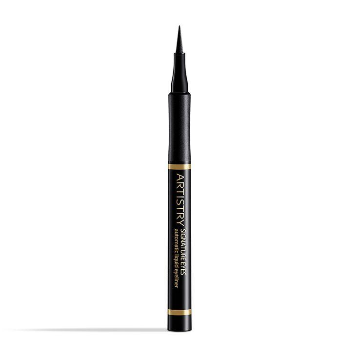 Bestellnummer: 112828. ARTISTRY SIGNATURE EYES ™ Flüssig-Eyeliner. Intensive, pflegende und einfach aufzutragende Farbe akzentuiert und definiert Augen für endlos schöne Augenblicke und Looks, die von dezent bis üppig und von natürlich bis dramatisch reichen. Die geschmeidige Formel für ein präzises Auftragen ist schnell trocknend. Erhältlich in intensivem, gut deckendem Schwarz oder in Dunkelbraun.