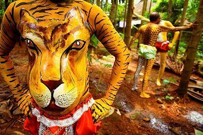 Image result for india tiger dance
