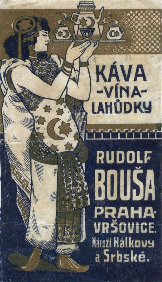 Another old postcard from Prague