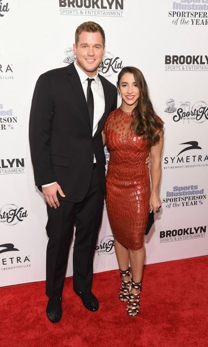 Aly Raisman and her boyfriend NFL star Colton Underwood made their first official red carpet appearance as a couple.