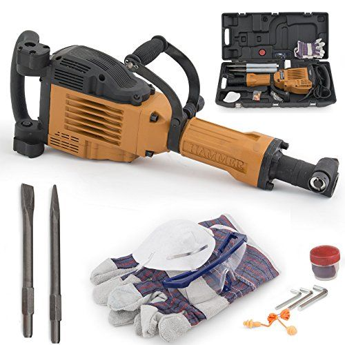 Special Offers - ARKSEN 3600W Electric Demolition Jack Hammer Concrete Breaker Punch Bit w/ Chisel  Case - In stock & Free Shipping. You can save more money! Check It (December 03 2016 at 03:56AM) >> http://hammerdrillusa.net/arksen-3600w-electric-demolition-jack-hammer-concrete-breaker-punch-bit-w-chisel-case/