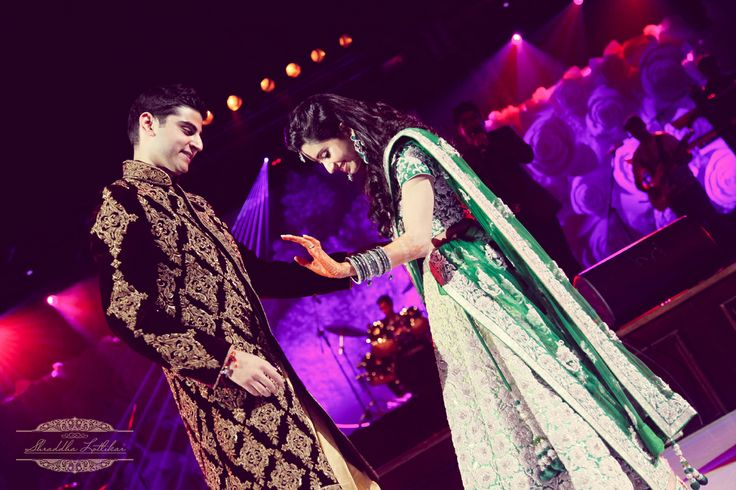 """The Sangeet is a joyful celebration. The event started with by the families with an amazing performances with a blend of classical and western Dance. This was added by a very romantic Dance by Anshul and Mahak at the Sangeet. To take the event more Musical one of the topmost Singer from India """"Shantanu Mukherjee"""" aka """"Shaan"""" was Specially called for his Awesome playlist. Do visit my Blog""""http://www.shraddhalotlikar.com"""" Or email me at mailshraddhalotlikar@gmail.com or call me on +91…"""