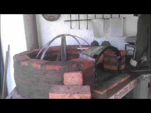 Horno de Barro - ladrillo construccion Gonzalo Pérez Gallo - YouTube