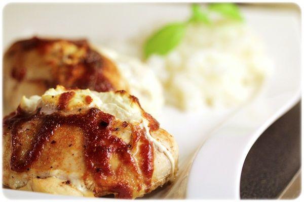 BBQ-kylling med kremost