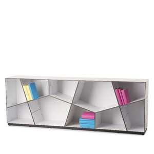 Pattern Bookcase White, 2.750€, now featured on Fab.