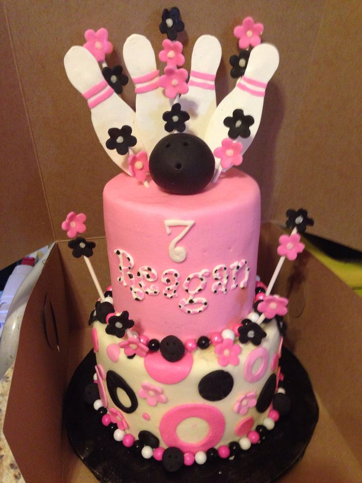 Bowling cake 7 best Bowling Cakes images