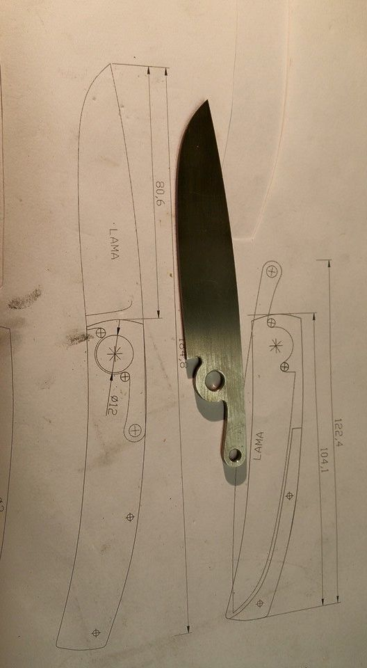 Friction folder  WIP Manaresso knives