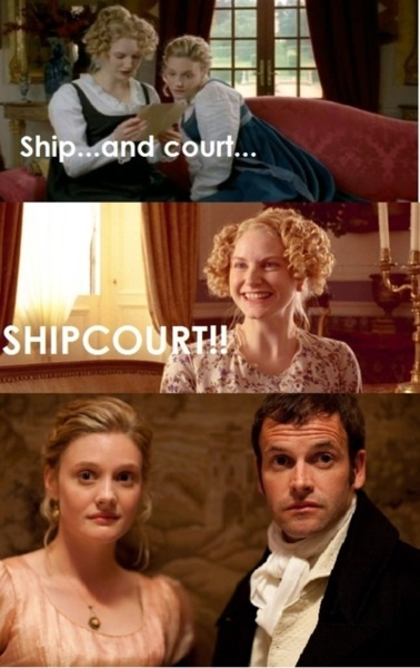 ha. yes, harriet. that's right. ship and court make shipcourt. lol.