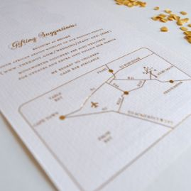 Wedding-Paper-Bells   Stacy and Jesse Wedding invitation we designed for this fun young couple. #Schwarzie