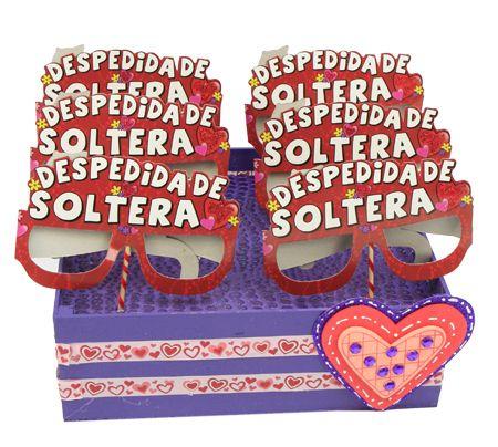 Despachador de antifaz para Despedida de Soltera / Centro de mesa