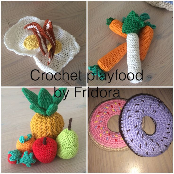Playfood for a little girl