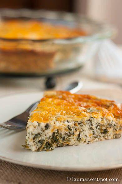 Healthy Crustless Quiche Base Recipe