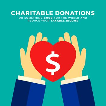 Did you know you claim claim charitable donations as tax deductions? Our latest blog covers and ins and outs.