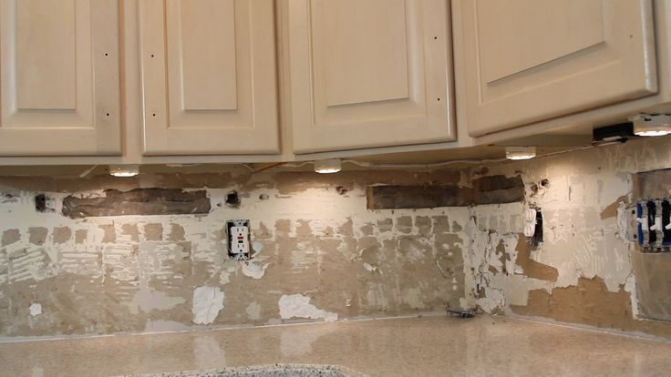 A video tutorial for how to install under cabinet lighting in an existing kitchen.