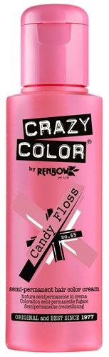 Coloration CRAZY COLOR - Candy Floss - #Teinture Rose #Cheveux Semi Permanente Pour une #Coiffure #Rock #Punk #Gothique #Emo rockagogo.com