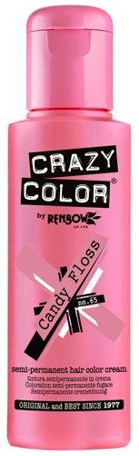 coloration crazy color candy floss teinture rose cheveux semi permanente pour une - Coloration Temporaire Rose