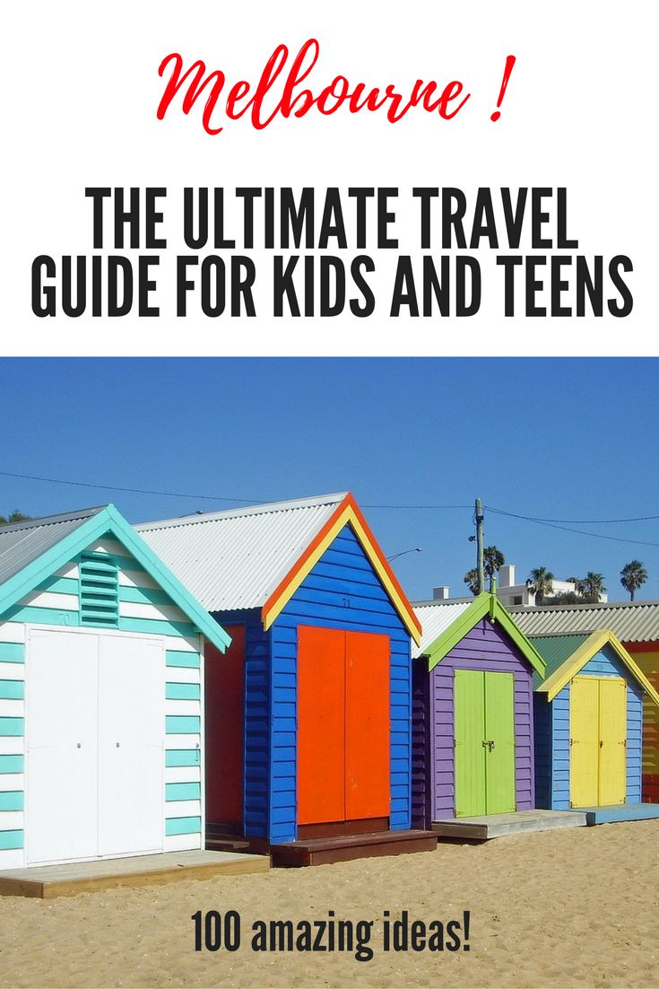 The most comprehensive guide on the internet for families with toddlers, kids and teens travelling to Melbourne, Australia The best museums, beaches, activities, quirky things to do, day trips, animal encounters, shops, cafes and accommodation options.