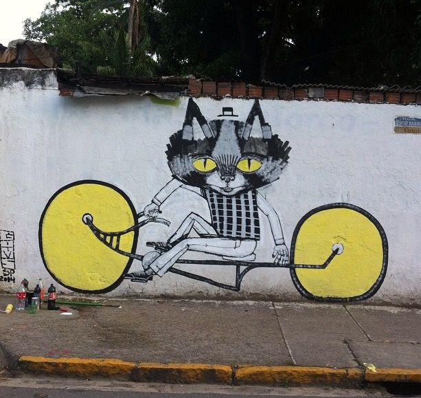 47 Best Cycling Street Art Graffiti Images On Pinterest