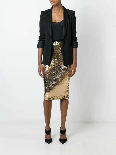 Marco Bologna sequin embellished skirt