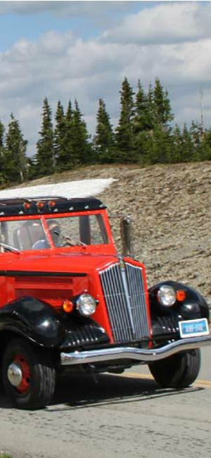 If you had one day at the Glacier National Park: take the Red Jammer Bus tour | glacierMT.com