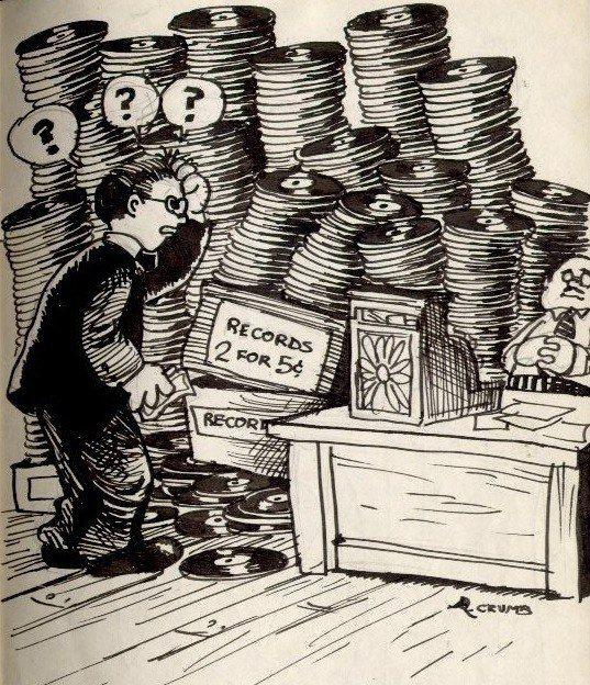 Crate Digging, Robert Crumb