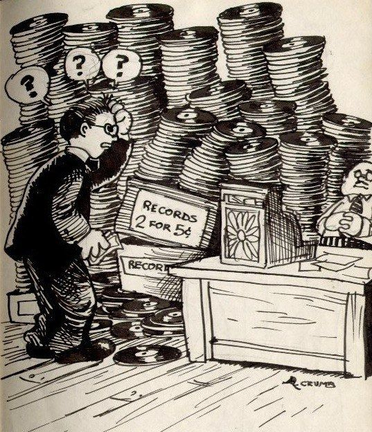 Crate Digging, Robert Crumb