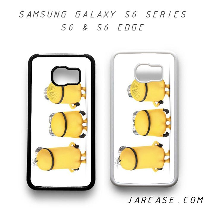 three minions Phone case for samsung galaxy S6 & S6 EDGE