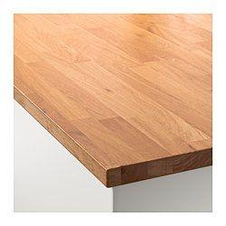 IKEA - HAMMARP, Arbeitsplatte, 186x2.8 cm, , Inklusive 25 Jahre Garantie. Mehr darüber in der Garantiebroschüre.Eiche ist ein sehr hartes Holz und daher sehr beliebt als Material für Arbeitsplatten und Möbel. Der Holzton variiert von hellbraun bis zum tiefen Rotbraun und dunkelt mit der Zeit nach.Massivholz ist ein ausdruckvolles Naturmaterial. Wachstum und Alter des Baums sorgen für Varianten in Farbe, Struktur und Aussehen. So wird jedes Produkt zum Unikat.Arbeitsplatten aus Massivholz…