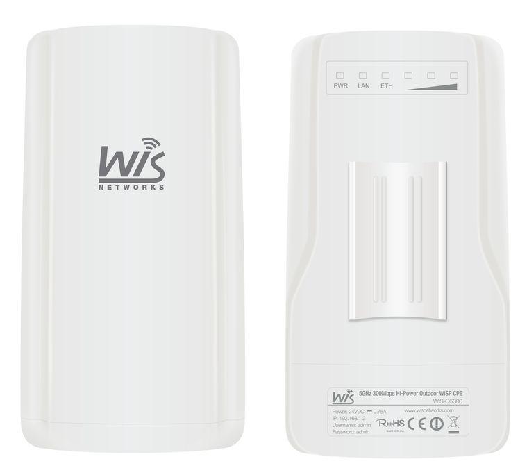 WIS-Q2300 - Outdoor Wireless Client Premises Equipment (CPE) Dual Polarised 2.4GHz - Ovios