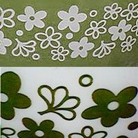 Parsimonia {Secondhand With Style}: Pyrex Patterns: Spring Blossom Green or Crazy Daisy?
