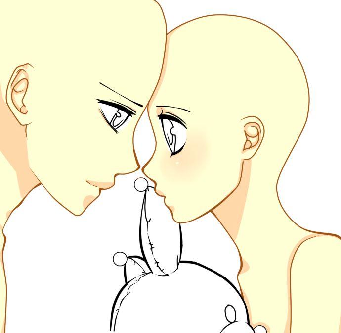 Anime Vampire Base Teeny Pony Couple Base By