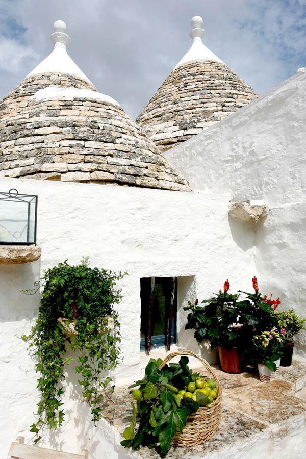 BEAUTIFUL RESTORED TRULLI IN PUGLIA, ITALY   THE STYLE FILES