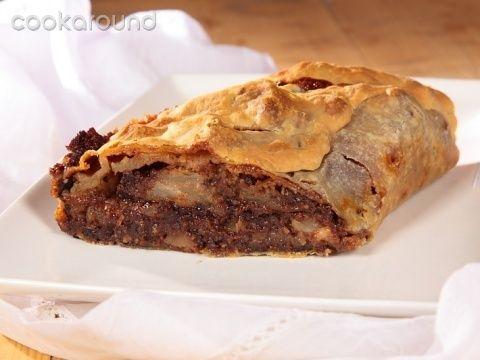 Strudel di pere e cioccolato: Ricette Dolci | Cookaround